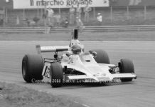 Hill GH1 . Tony Brise. Italian GP 1975